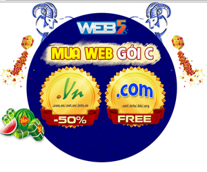 Khuyến mãi website