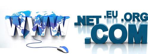 đăng kí tên miền.net và .com